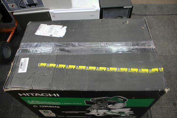 "Hitachi 12"" Miter 15-Amp Bevel Slide Laser Compound Miter Saw"