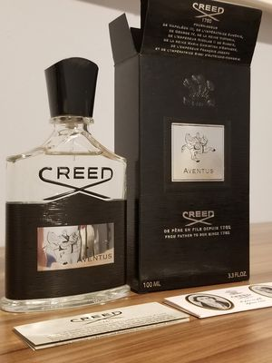New, guaranteed authentic, 100ml creed aventus cologne for Sale in Palos Park, IL