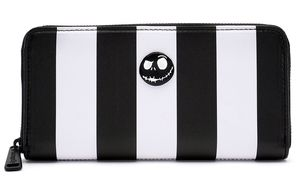 The Nightmare Before Christmas Jack Skellington Loungefly Striped Wallet Disney Disneyland NEW for Sale in Moreno Valley, CA