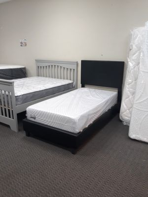 Twin Size Mattress & Bed Frame for Sale in St. Louis, MO