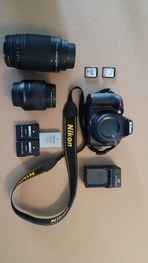 Nikon D3300 for Sale in San Antonio, TX