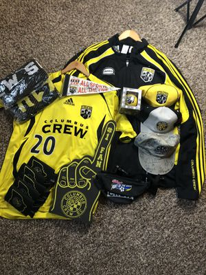 Columbus Crew Christmas Package - Signed memorabilia, Authentic Gear, and multiple other items! for Sale in Columbus, OH