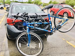 Schwinn Mirada Bike, car rack and Lock with key All together for Sale in Northbrook, IL