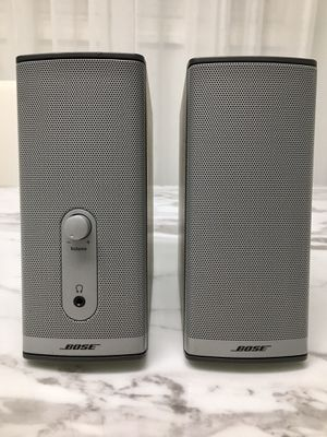 V good condition Bose Companion 2 Series II Multimedia Speaker System pick up des plaines for Sale in Skokie, IL