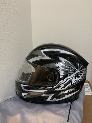 AFX FX-90 Passion Full Face Helmet, Small, Black/Gray, Women's for Sale in San Francisco, CA