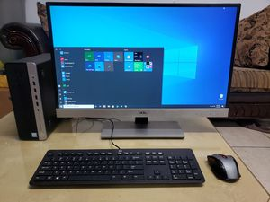 "Wireless desktop HP Prodesk 600 G3, 27"" AOC monitor for Sale in San Diego, CA"