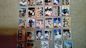 1981 Topps baseball set of 29 cards for Sale in Stockbridge, GA