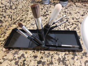 NEW 8 Piece Travel Makeup Brush Set for Sale in Rancho Cucamonga, CA