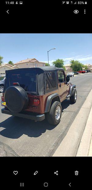 2003 Jeep Wrangler V6 for Sale in Sun City, AZ