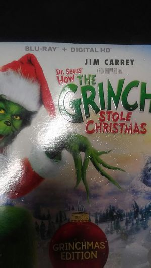 The grinch blueray for Sale in Los Angeles, CA