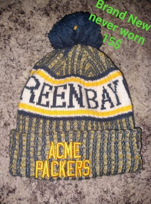 Used, PACKERS WINTER HAT BRAND NEW NEVER WORN for Sale for sale  Great Falls, MT