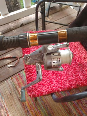 South bend cat master rod and heavy action abu garcia real for Sale in Lakeside, AZ