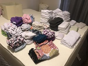 Huge cloth diaper lot for Sale in Poulsbo, WA