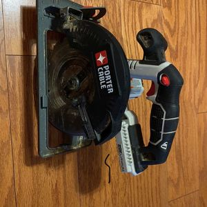 6 1/2 Porter Cable 20v Saw for Sale in Stafford, VA