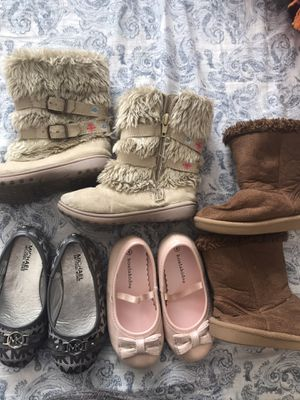 Toddler Girl Shoes/Boots Size 8 for Sale in Las Vegas, NV