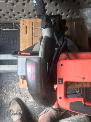 Black and decker saw with legs for Sale in Apopka, FL