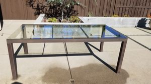 Tempered glass top outdoor dining table- FREE for Sale in Carlsbad, CA