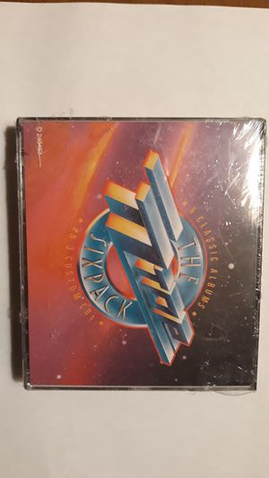 Zz top 6 pack 3 cd set factory sealed mint!! for Sale in Weirsdale, FL