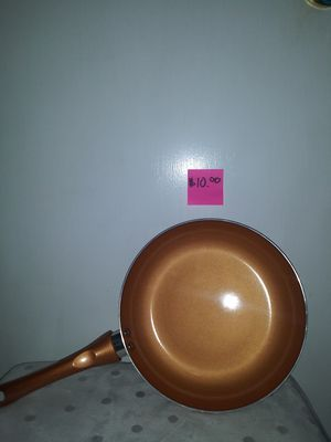 """NonStick Copper Pan 9.5"""" for Sale in San Angelo, TX"""