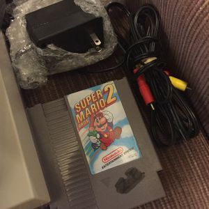 Original NES two controllers + extras for Sale in Payson, AZ