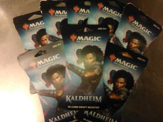 Magic The Gathering Kaldheim Draft Booster Packs for Sale in Portland,  OR