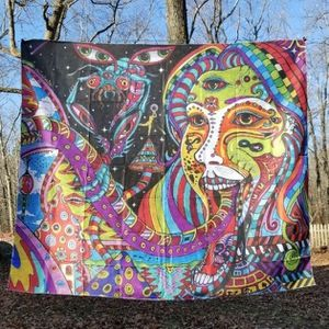 Expanded Consciousness Tapestry for Sale in New Haven, CT