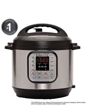 Instant Pot DUO60 6 Qt 7-in-1 Multi-Use Programmable Pressure Cooker. for Sale in Las Vegas, NV