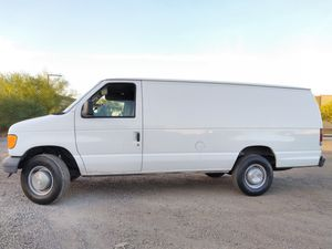 1 TON CARGO WORK VAN! 2004 Ford e-350. SUPER duty! Runs PERFECT ! - $4200 (Chevy express g2500 g3500 gmc Savana ) for Sale in Phoenix, AZ