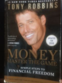 Money Master The Game Book by Tony Robbins for Sale in San Diego,  CA