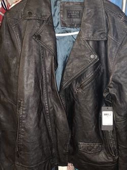 Guess Black Moto Jacket for Sale in Vernon,  CA