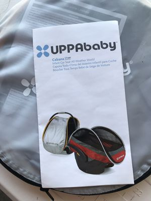 Uppababy infant car seat all weather shield for Sale in Greenwood, IN