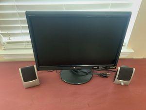 Computer monitor w 2 speakers for Sale in Gulf Breeze, FL