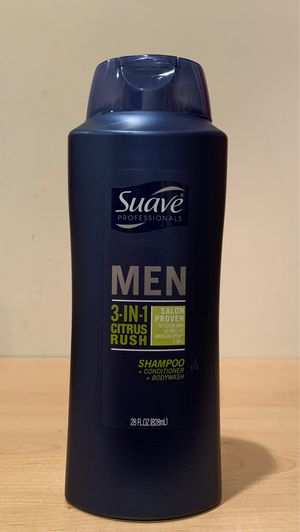 Big 28 oz Suave Men 3-in-1 shampoo/conditioner/body wash for Sale in Fort Hunt, VA
