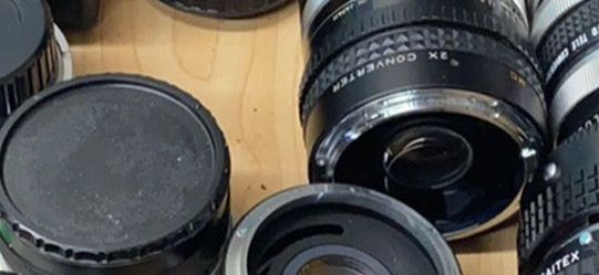 Vintage Camera Lens And Camera Lot for Sale in Denver,  CO