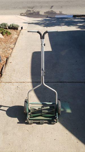Scotts push tiller lawn mower for Sale in Fresno, CA