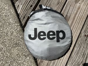 Genuine Jeep Windshield Sun-Shade Visor for Sale in Palm Harbor, FL