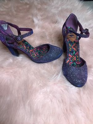 Gorgeous sparkly glam purple/pink heels for Sale in Chandler, AZ