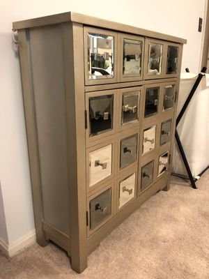 Chateau champagne mirrored chest for Sale in Arlington, VA