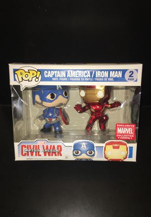 Captain America / Iron man Exclusive for Sale in Bronx, NY
