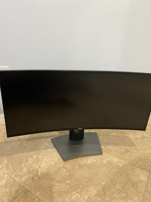 Dell U3417W 34 inch ultrawide curved gaming monitor PRICE NEGOTIABLE for Sale in Hialeah, FL