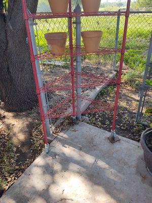 Corner shelf on wheels for Sale in Austin, TX