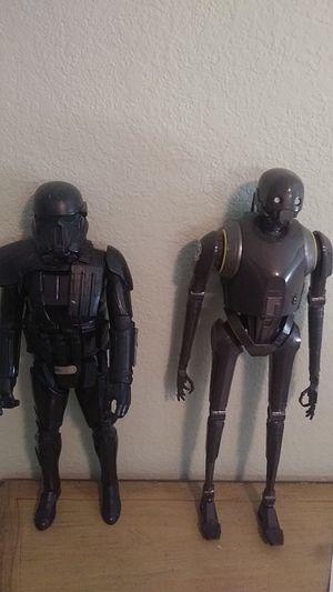 Star Wars antique 1 foot high figurines for Sale in Moraga, CA