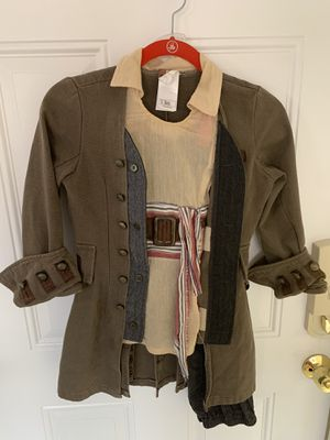 Disney pirate jack sparrow Halloween costume small for child for Sale in Boca Raton, FL