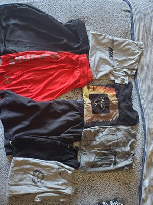 Young mens clothes. Size medium. Van's, rvca, under armour and Nike for Sale in Rancho Santa Margarita, CA