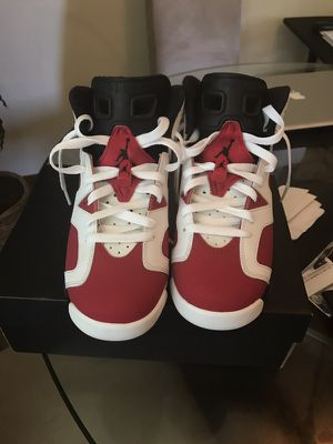 Jordan 6 carmine *Great condition* for Sale in Pittsburgh, PA