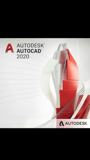 AUTODESK AUTOCAD 2020, PERMANENT. for Sale in Downey, CA