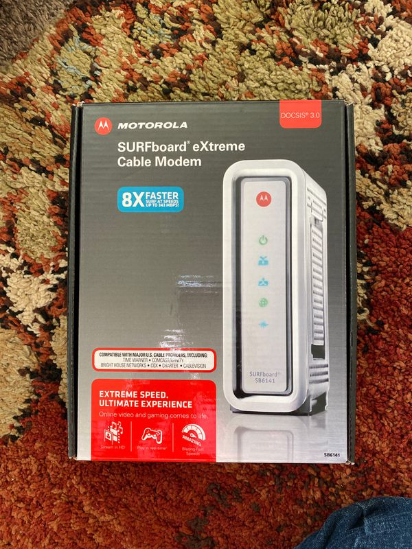 Surfboard sb6141 Cable Modem