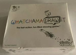 WhatchamaDRAWit Game, Fast Action, No Talent Required, 2010, Timer Included, New for Sale in San Diego, CA