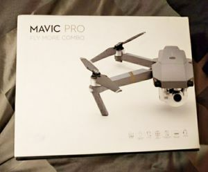 Used once New Drone , DJI Mavic Pro FlyMore Combo for Sale in Conroe, TX