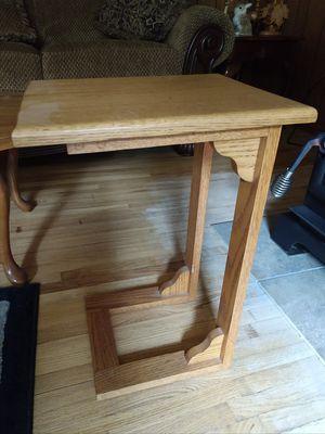 Oak end table for Sale in Merritt, MI